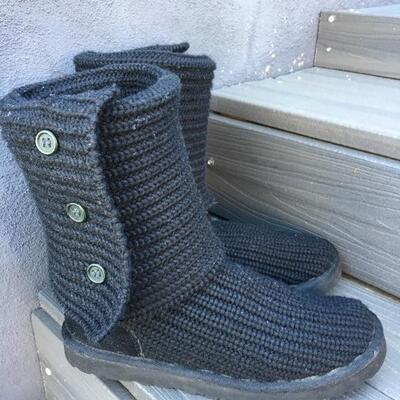 UGG Boots Size 7 Black