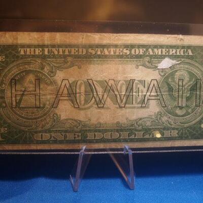 1935 Silver Certificate Hawaii