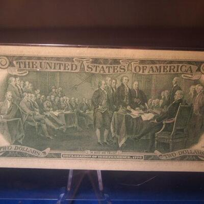 1976 First Day issue Two dollar Bill
