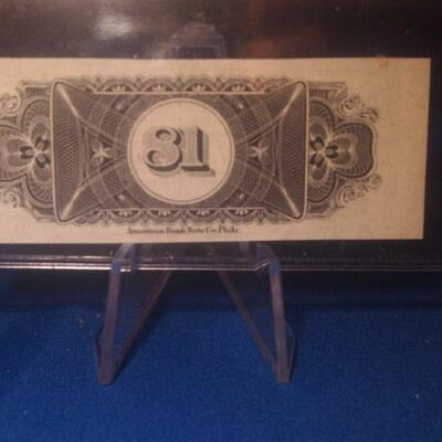 Choctaw  Oklahoma  Gulf Railroad 25 dollar Gold Note Collectable note