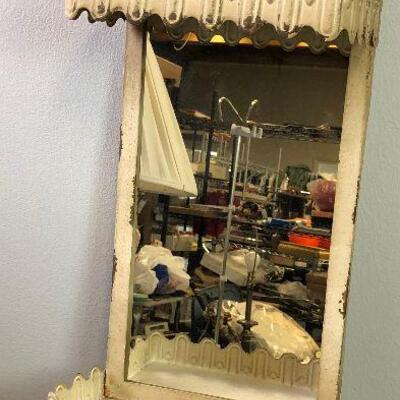 #2 Wall Mirror Tin with hangers