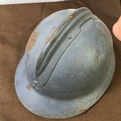 #16 Antique French Army Helmet