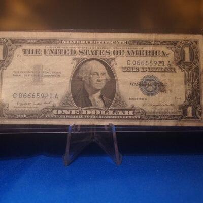 1957 A Silver Certificate  7