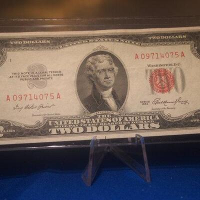 1952 2 Dollar Bill