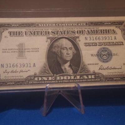 1957 Silver Certificate  10