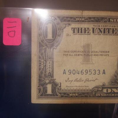 1957 Silver Certificate  110