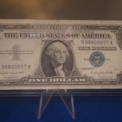 1957 A Silver Certificate 122