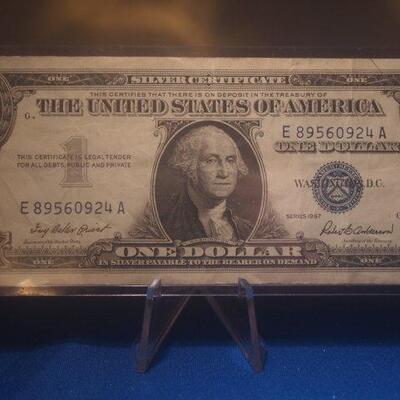 1957 Silver Certificate 120
