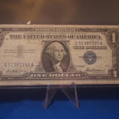 1957 Silver Certificate 119