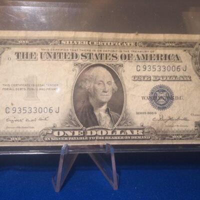 1935 Silver Certificate 115