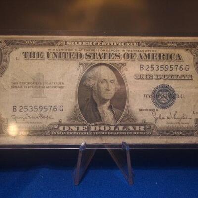 1935 Silver Certificate 114