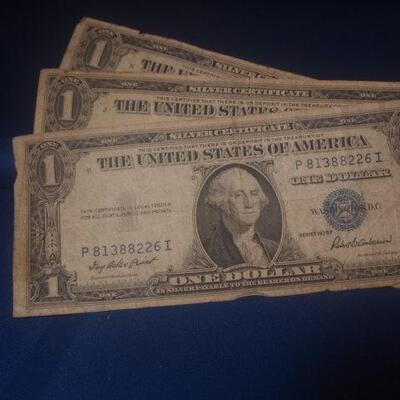 3 1935 Silver Certificates