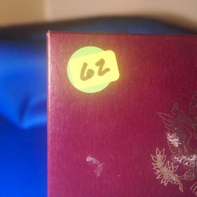 1989 U S  Mint Proof Set 62