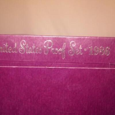 1986 US Mint Set 65