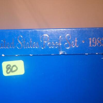 1983 Mint Set  80