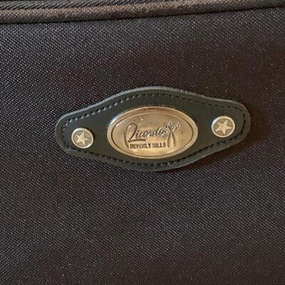 LOT 36 Luggage Suitcase Ricardo of Beverly Hills