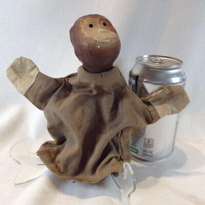 Old Monkey Hand Puppet