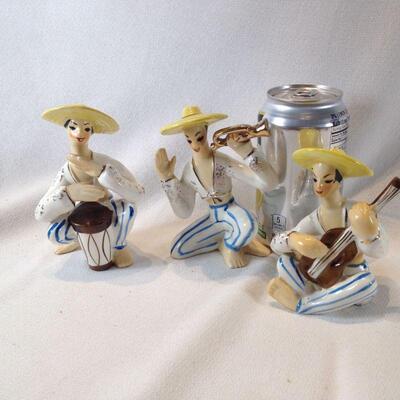 Calypso Trio Figurines