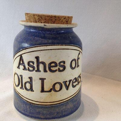 Crock for Ashes of Old Lovers