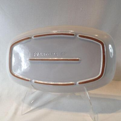 Frankoma White Glazed Platter