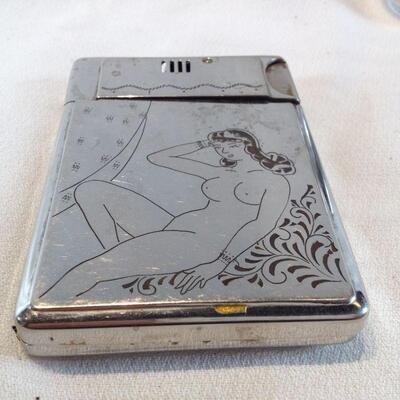 Vintage Cigarette Case & Lighter