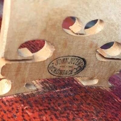 Antique 4/4 JOHN JUZEK Style Violin, Case and Bow