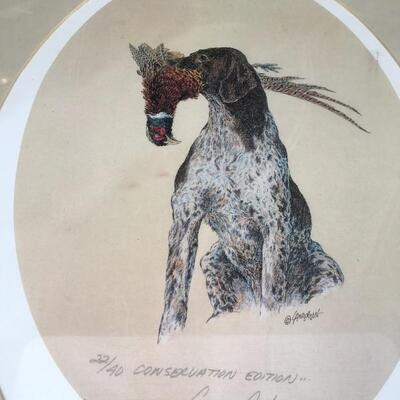 LARRY ANDERSON Early Signed Numbered 22/40 Lithograph