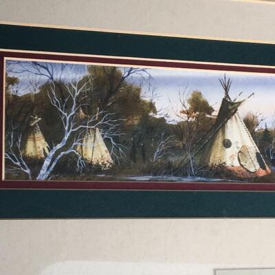 "RON HEWITT ""Evening Watch"" Hand Signed and Numbered"