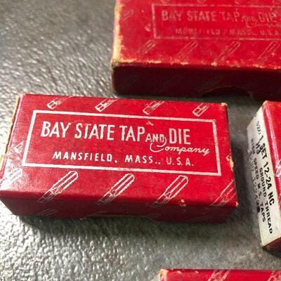 124: Vintage Bay State High Speed Hand Taps