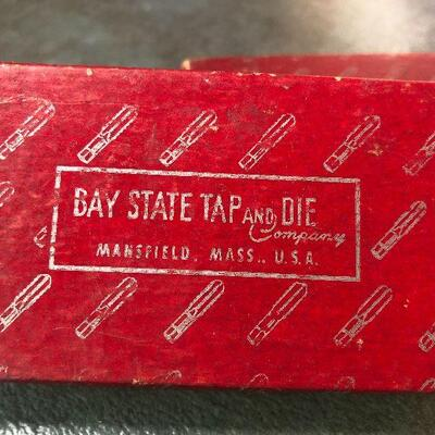 125: Vintage Bay State High Speed Hand Taps