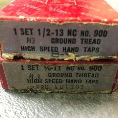 126: Vintage Bay State High Speed Hand Taps