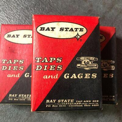 127: Vintage Bay State High Speed Hand Taps