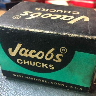 131: Vintage Jacobs 6B Chuck with Key