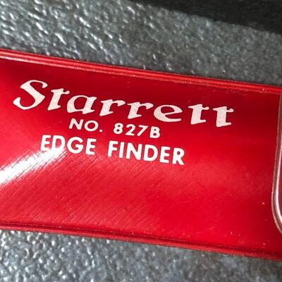 132: Vintage Starrett Edge Finder and More