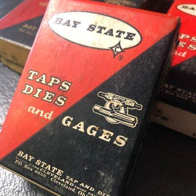 133: Vintage Bay State High Speed Hand Taps