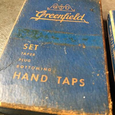 134: Vintage Bay State High Speed Hand Taps