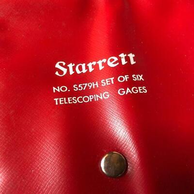 137: Vintage Starrett Telescoping Gages
