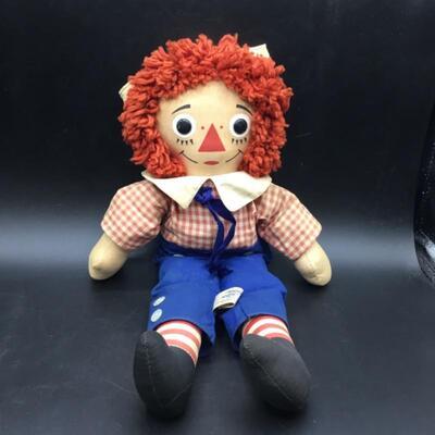 Raggedy Andy Doll by Knickerbocker Toys