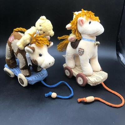 Lot of 2 Enesco Cherished Teddies Figures 1998