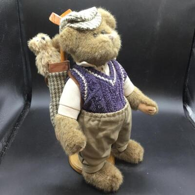 "BEARINGTON BEAR #1410 ""DADDY IS MY CADDY"" LIMITED SERIES 14"