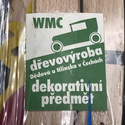 Lot of 2 Czechoslovakian Baby Mobiles
