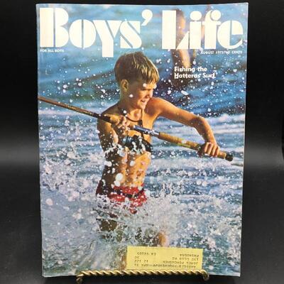 """Boys' Life Magazine"" August 1975"