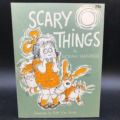 """Scary Things"" by Nora Smaridge Children's Book 1969"