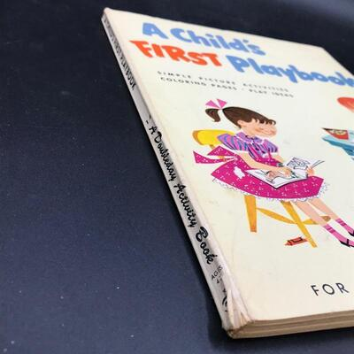 """""""A Child's First Playbook"""" 1959"""