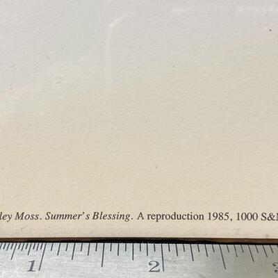 P. Buckley Moss SUMMER