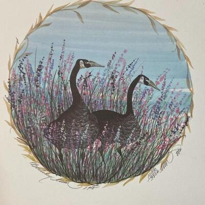 P Buckley Moss WINTER'S FRIEND Repro Print Limited Edition Signed Numbered Unframed