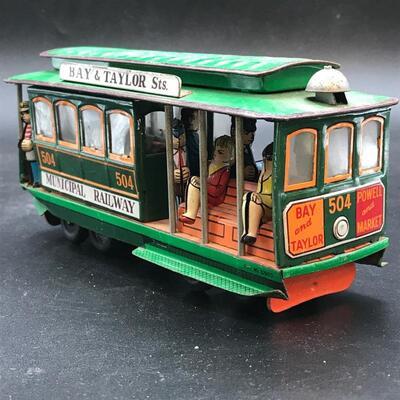 Vintage Toy Streetcar