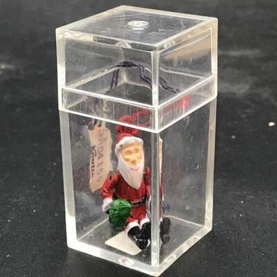 Santa Claus Holiday Ornament