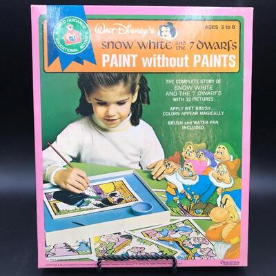 """Disney Snow White """"Paint-Without-Paint"""" Set"""