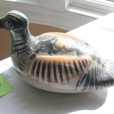 Lot 8 Handmade Ceramic Duck